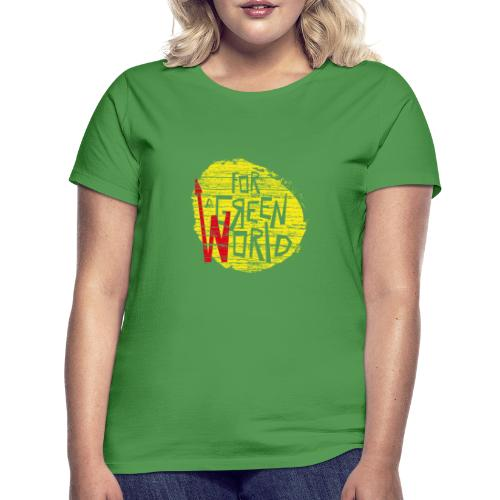 for green - Camiseta mujer
