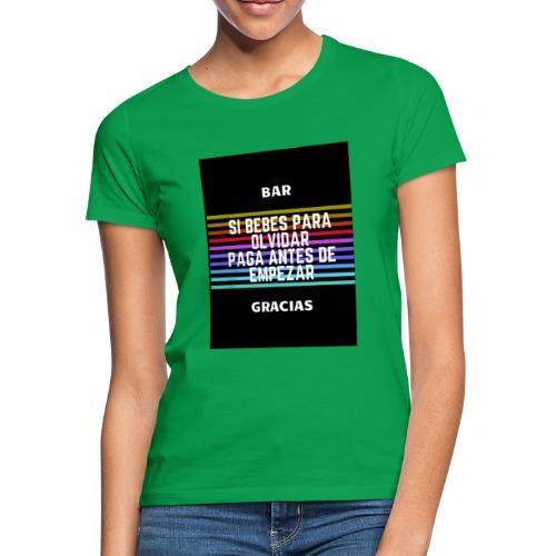 bar - T-shirt Femme