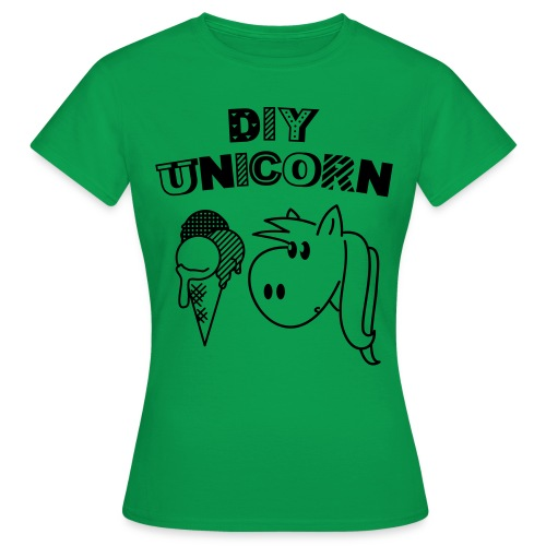 DIY Unicorn Einhorn - Frauen T-Shirt