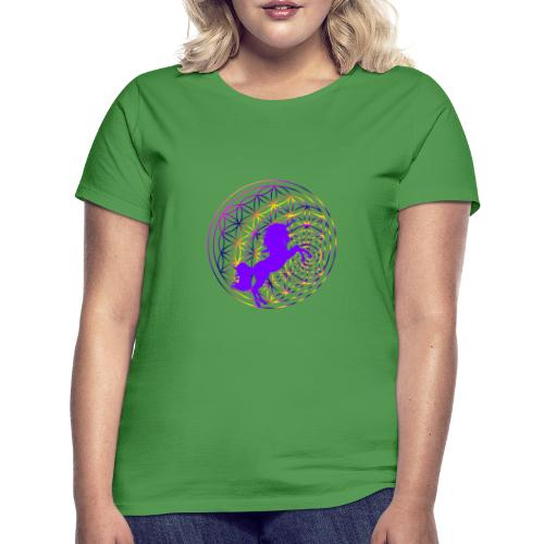 fleur de vie licorne - T-shirt Femme