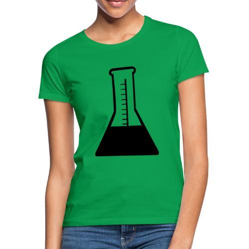 chemie schwarz - Frauen T-Shirt