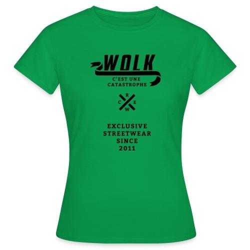 varsityx04 - Vrouwen T-shirt