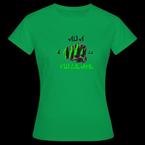 non a la violence - T-shirt Femme