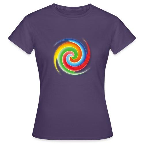 deisold rainbow Spiral - Frauen T-Shirt