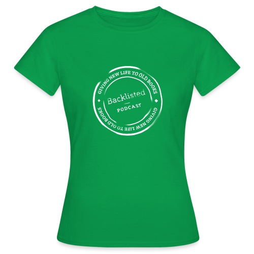 Backlisted T-shirt Women's Green - Women's T-Shirt