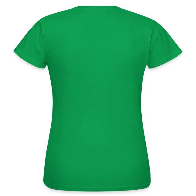 Backlisted T-shirt Women's Green