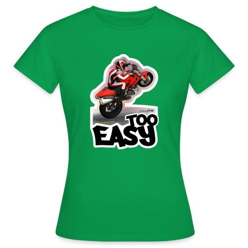Ducati Monster Wheelie A - Camiseta mujer