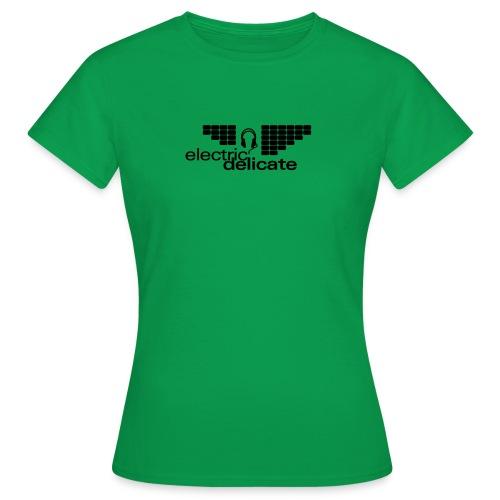 logodruck Electric Delicate - Frauen T-Shirt