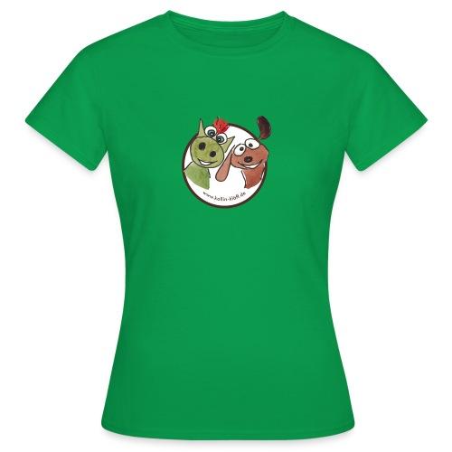 Kollin Kläff - Hund und Drache Blitz - Frauen T-Shirt
