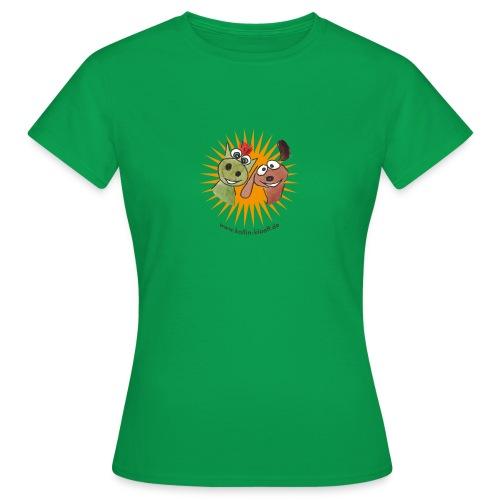 Kollin Kläff - Hund mit Drache - Frauen T-Shirt