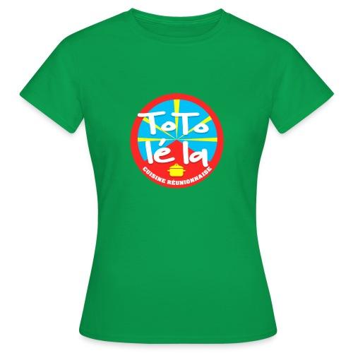 Collection Toto Lé La 974 - T-shirt Femme
