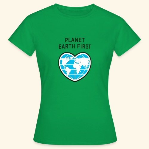 PlanetFirst - Frauen T-Shirt