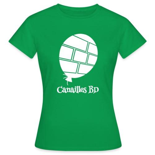 Canailles BD - T-shirt Femme