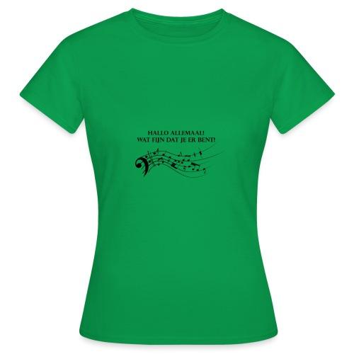 Hallo allemaal! - Vrouwen T-shirt