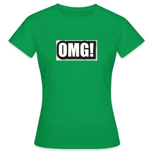 large wordprops omg - T-shirt dam