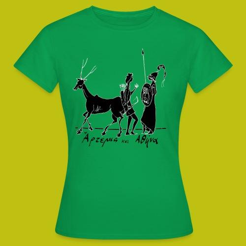Artemisa y Atenea - Camiseta mujer