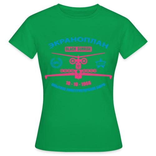 Ekranoplan II - Maglietta da donna