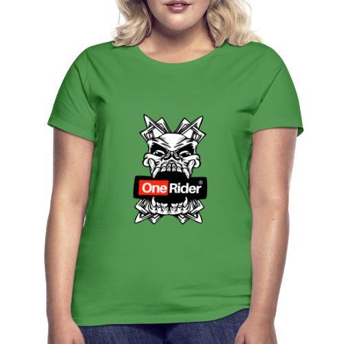 Calabera dientes - Camiseta mujer