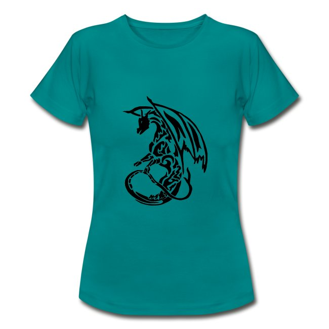 T-shirt Eaven Tribal - Dragon Clair Femme