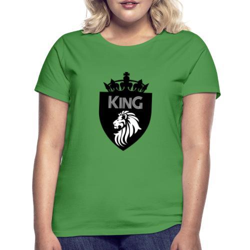 king - T-shirt Femme