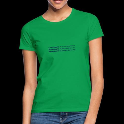sudo reset - Frauen T-Shirt