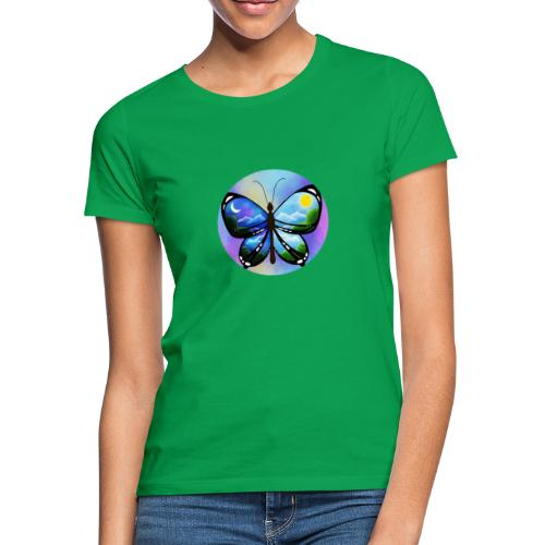 Blue Butterfly nature amazon - Camiseta mujer