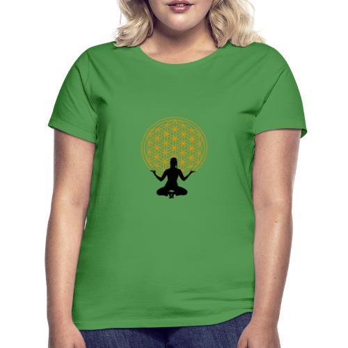 fleur de vie yoga 3 - T-shirt Femme