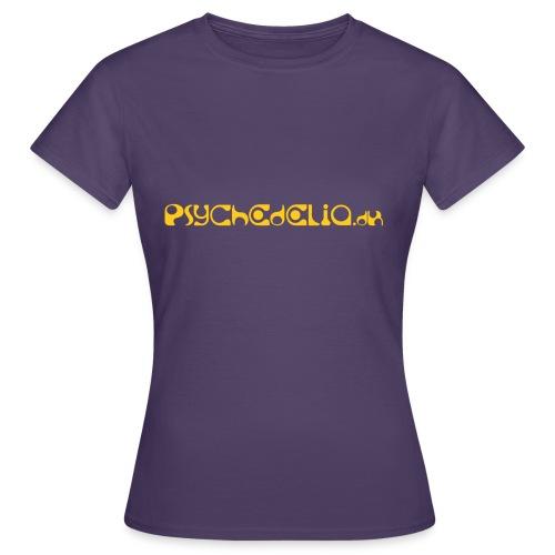 Psychedelia.dk - Dame-T-shirt