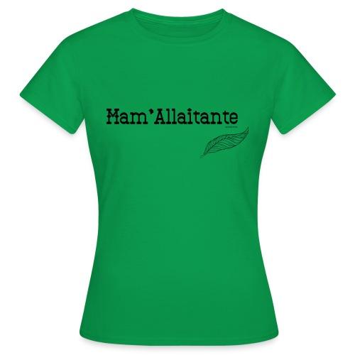 mam'allaitante - T-shirt Femme