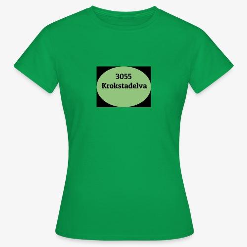 Krokstadelva - T-skjorte for kvinner
