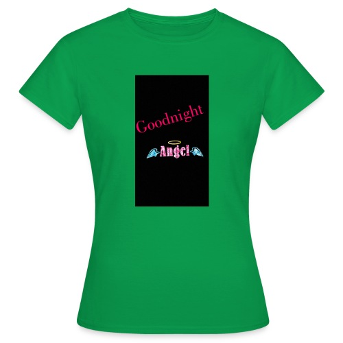 goodnight Angel Snapchat - Women's T-Shirt