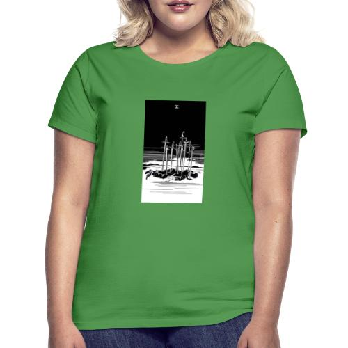 Revenge Capitalism (on color) - Women's T-Shirt