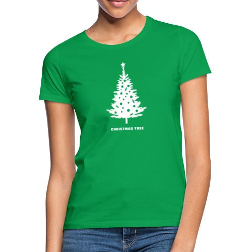 christmas tree, christmas, new year, rockefeller - Women's T-Shirt