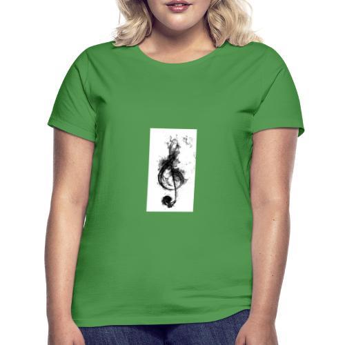 Notenschlüssel - Frauen T-Shirt