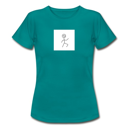stick man t-shirt dance 1,0 - Dame-T-shirt