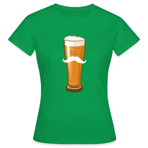 Bière Moustache - T-shirt Femme