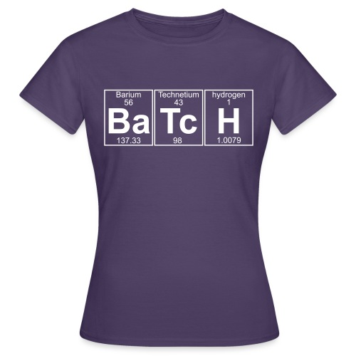 Ba-Tc-H (batch) - Full - Women's T-Shirt