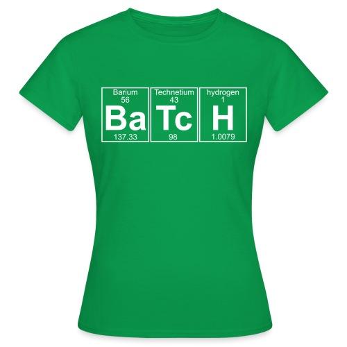 Ba-Tc-H (batch) - Full - Women's T-Shirt