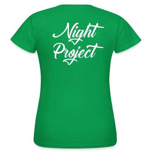 Night-Project - Sans fond - T-shirt Femme