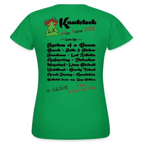 Knutstock LineUp2 - Frauen T-Shirt