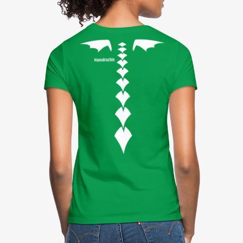 Hausdrachin Rücken - Frauen T-Shirt