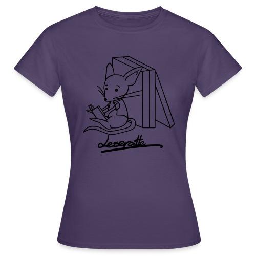 Leseratte - Frauen T-Shirt