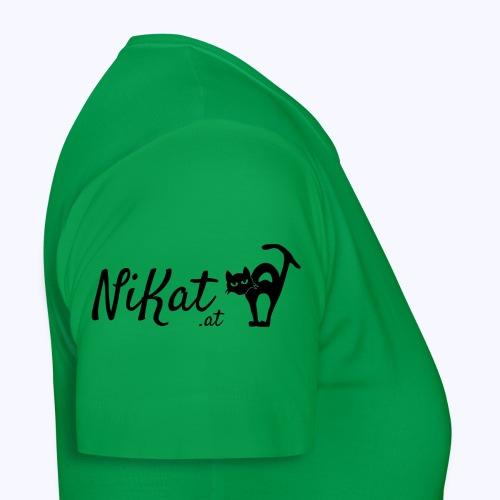 Nikat logo schwarz - Frauen T-Shirt