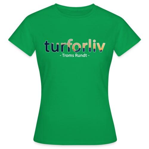 tromsrundt - T-skjorte for kvinner