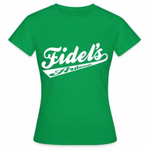 FIDEL S ARDENNAIS BLANC - T-shirt Femme