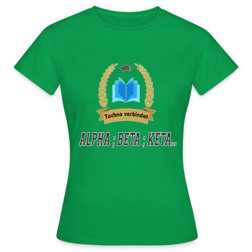 Techno verbindet - Frauen T-Shirt