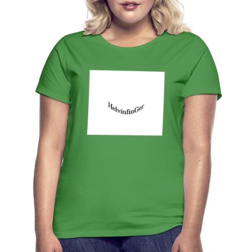 HilvinfinGer - Camiseta mujer