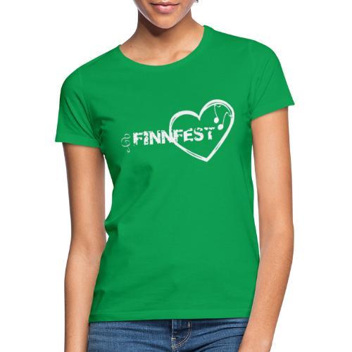 Finnfest white - Naisten t-paita