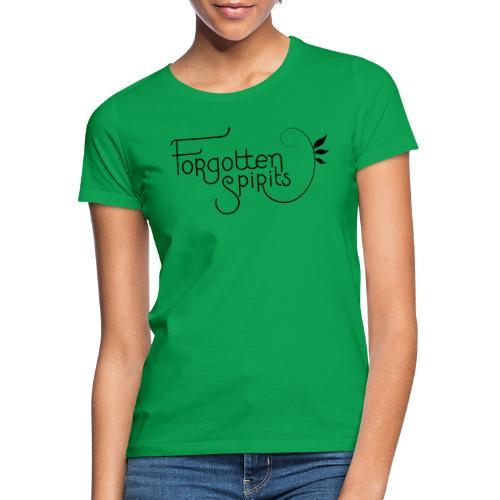 Forgotten Spirits, title - T-skjorte for kvinner