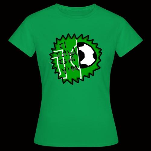 El futbol es mi vida - Camiseta mujer